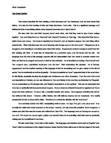 Great Gatsby And Book Comparison Essay by The Great Gatsby Tom And Gatsby Comparison Essay Persepolisthesis Web Fc2