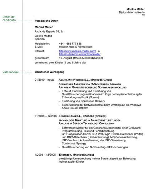 Modelo Curriculum Aleman Curr 237 Culum En Alem 225 N Consejos Que Debes Tener En Cuenta Infoidiomas