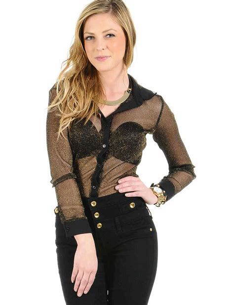 Black Bra Sheer White Blouse by Shop Like A 187 Archive Sheer Blouses Guide On