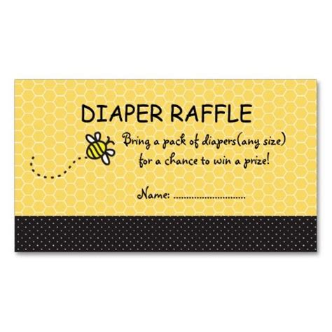bee card template 51 best images about raffle tickets on