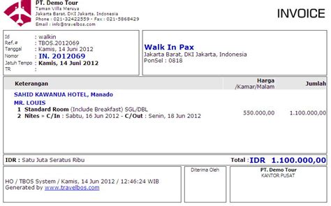 Contoh Guarantee Letter Untuk Booking Hotel Travelbos Front Office Aplikasi Travel Program Travel