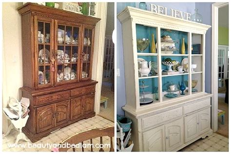 painted china cabinet before and after fairy cottage and garden re enchanted life of a