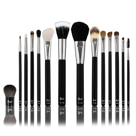 Makeup Brush Kit petal make up brush kits