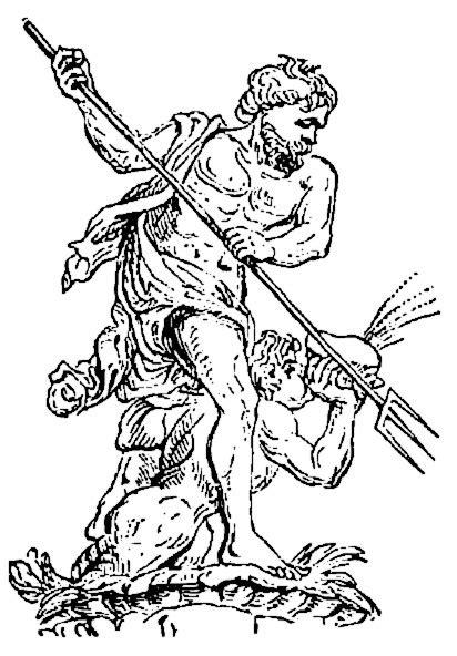 Poseidon 2 Religion Mythology Greek Greek 5 Poseidon 2 Poseidon Coloring Pages