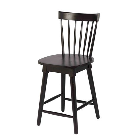 Black Counter Height Swivel Bar Stools by Craft Elise 24 In Black Counter Height Swivel Bar