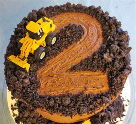 digger cake template cakespiration 12 construction cakes they ll really dig