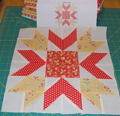 The Quilt Block by And Quilters Apple Pie In The Sky Quilt Along