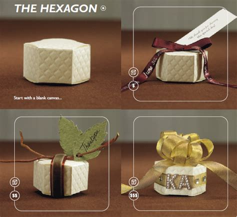 Wedding Favor Boxes Ideas by Hexagon Shaped Favor Box Ideas Here Comes The
