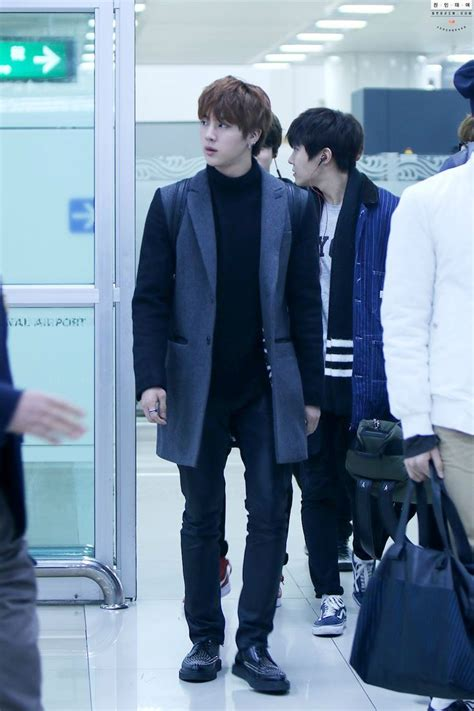Jinjin Fashion 17 best images about bts jin airport fashion on cars fashion styles and posts