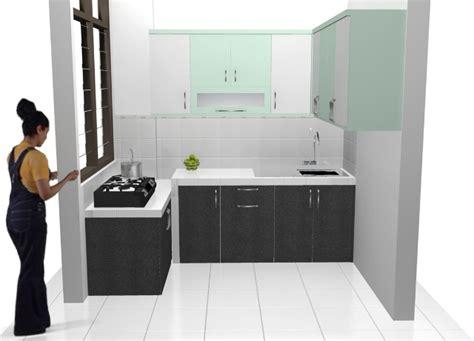 Rak Dapur Set kitchen set dan rak bawah tangga semarang custom