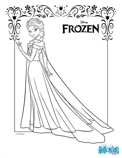 coloring pages princess elsa 21 princess coloring pages free printable vector eps