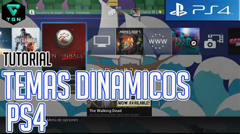 ps4 themes tutorial instalar temas dinamicos ps4 tutorial dynamic themes ps4