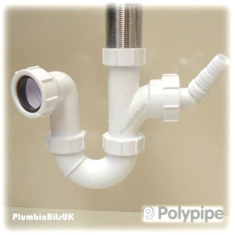 Polypipe Plumbing by Polypipe Pwm2 1 1 2 Quot Kitchen Sink Trap Dishwasher Washing