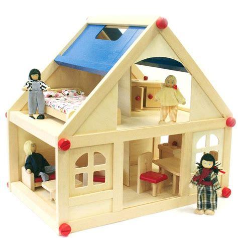 casa delle bambole legno casa delle bambole in legno completa di arredo e 4 bambole