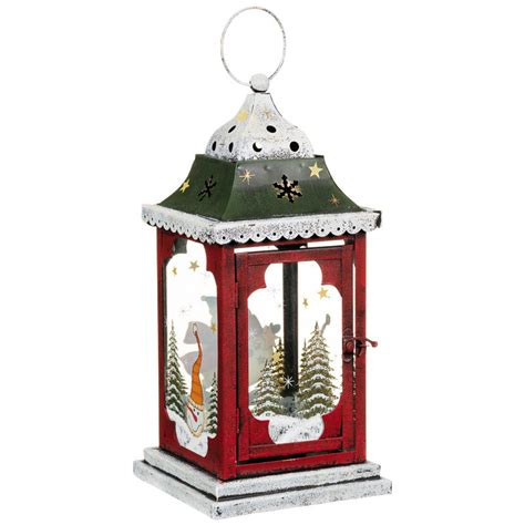 bm christmas snowman lantern decorations b m
