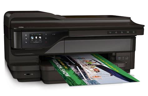 Printer Hp Wide Format hp officejet 7610 wide format e all in one printer review