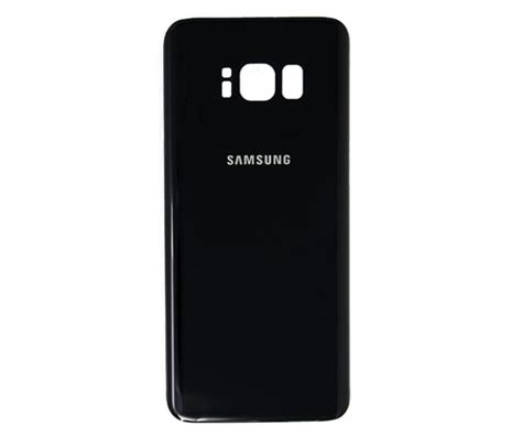 Back Samsung S8 1 samsung galaxy s8 back glass midnight black