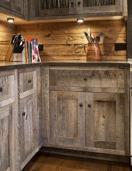 barnwood kitchen cabinets barn wood cabinets on pinterest barn siding barn wood
