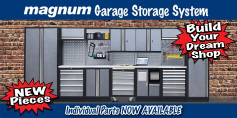 Magnum Garage Storage System New Components Kms Tools Magnum Garage Storage System New Components Kms Tools