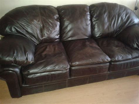 sofas de cuero sofa 100 cuero 3 cuerpos 1 100 000 en mercado libre