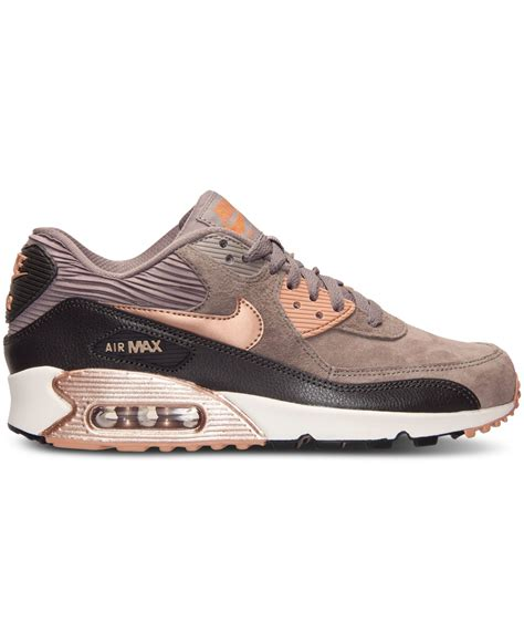 nike womans sneakers nike s air max 90 leather running sneakers from