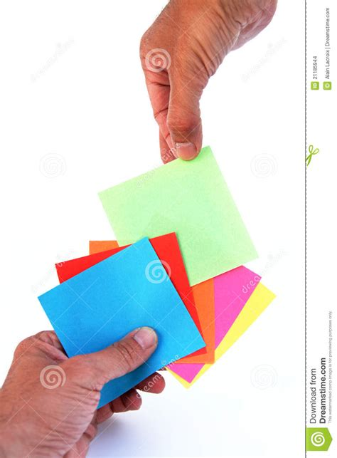 A Card - picking a card stock images image 21185944