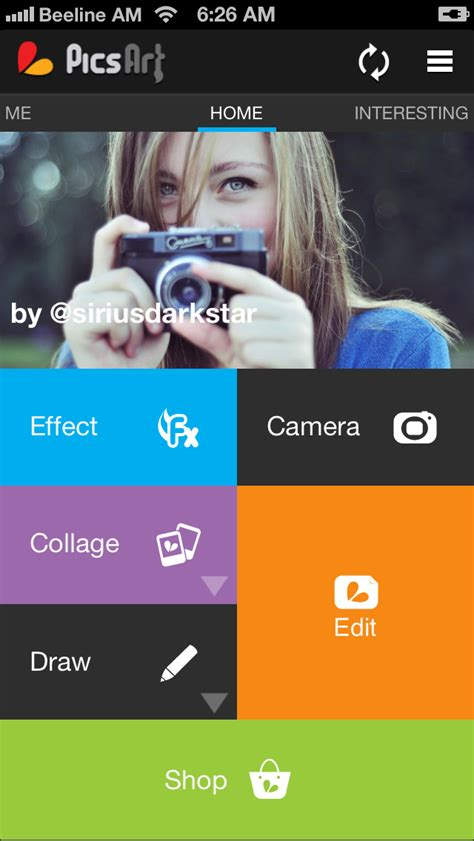 tutorial picsart iphone picsart app adds high resolution support new effects