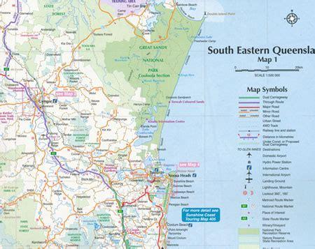 gubbi gubbi people of south east queensland australia south eastern queensland map 431 edition 4 ubd gregorys