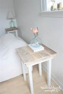 easy nightstand plans we lived happily after diy pallet nightstands with