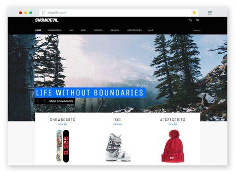 shopify themes venture 20 best free premium responsive shopify ecommerce