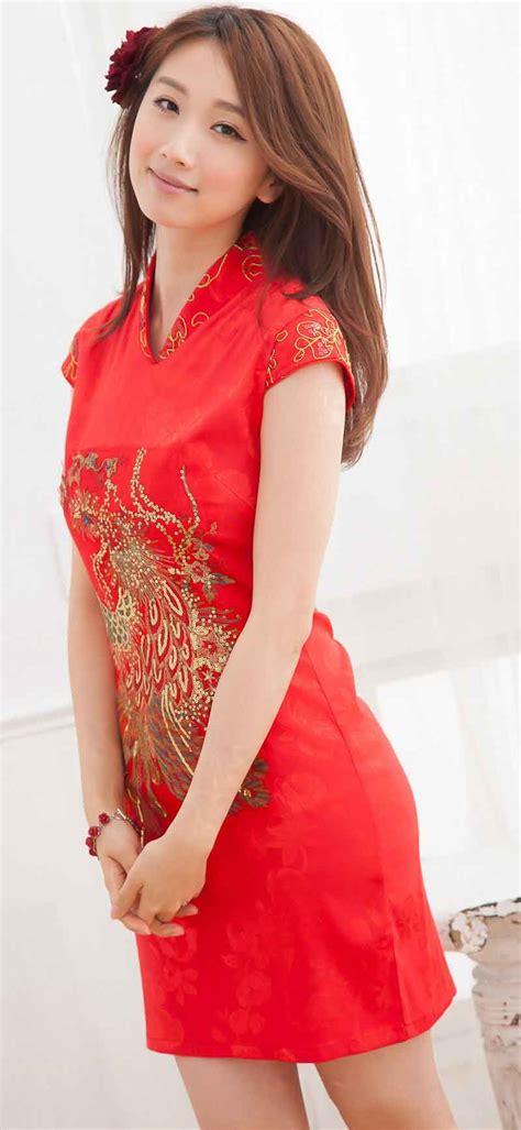 Baju Dress Murah Wanita Fahrani Dress baju dress cheongsam wanita imlek 2014 model terbaru