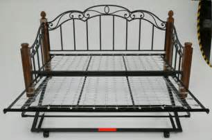 Daybed High Riser Pop Up Trundle Bed High Riser Trundle Guest Bed Single