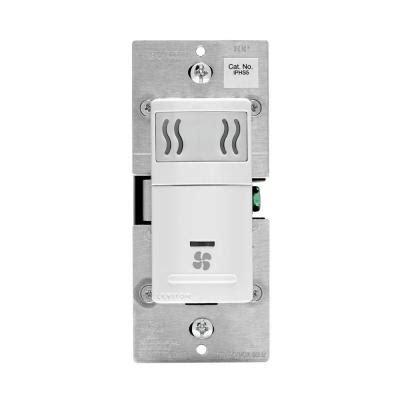 moisture fans under house leviton 5 amp humidity sensor fan speed control white r02