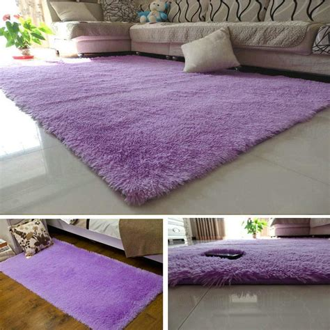 Fluffy Rugs Anti Skiding Shaggy Area Rug Dining Room Shaggy Rugs For Room