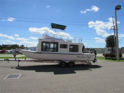 house boat craft adventure craft ac2800 house boat 2005 for sale for