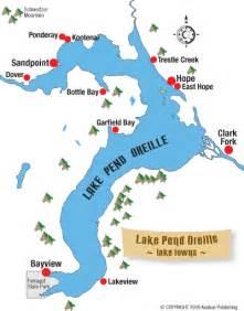 lake pend oreille idaho recreation guide sandpoint