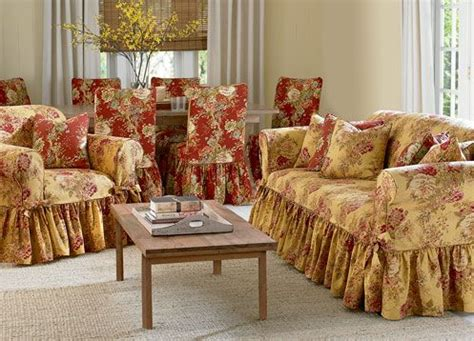 floral sofa slipcovers slipcovers waverly pinterest slipcovers bedding and