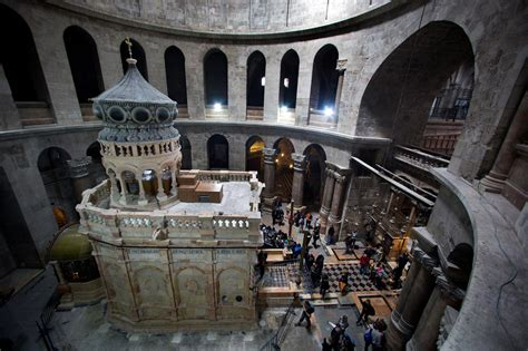 Charming Restored Church Of Jesus Christ #1: 01_jesus_tomb_after_holy_sepulchre.ngsversion.1490169608040.adapt.1900.1.jpg