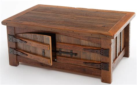 barnwood coffee table barnwood coffee table aged wood made in america