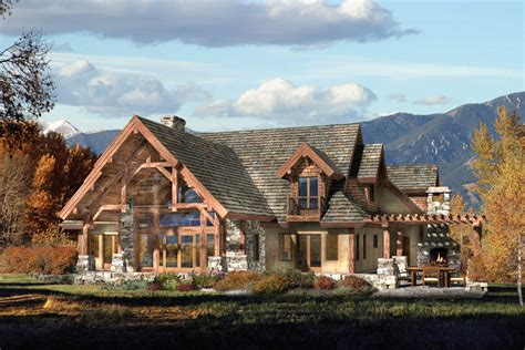 Timber Framed Homes Plans | timber log home plans timberframe find house plans