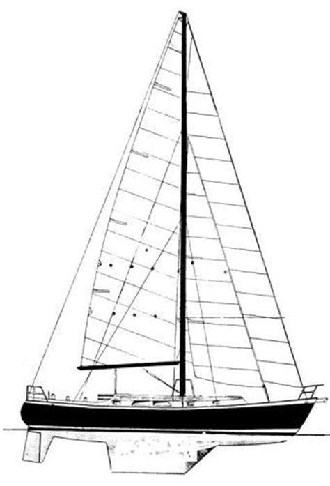 sailboat lines sailboat line drawing clipart best