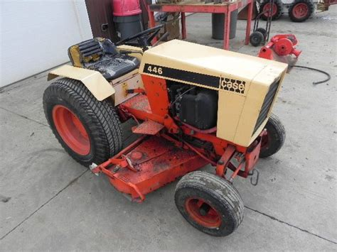 case 446 garden tractor for sale