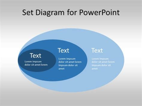 Free Set Diagram For Powerpoint Venn Diagram Template Venn Diagram Template For Powerpoint