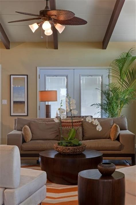 tropical themed living room 19 fun ways to style the house and decorate with orchids
