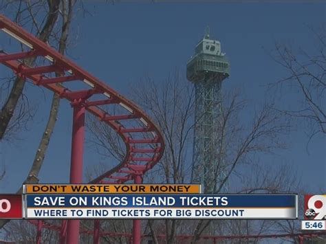 printable kings island tickets kings island discount tickets how to save money on autos