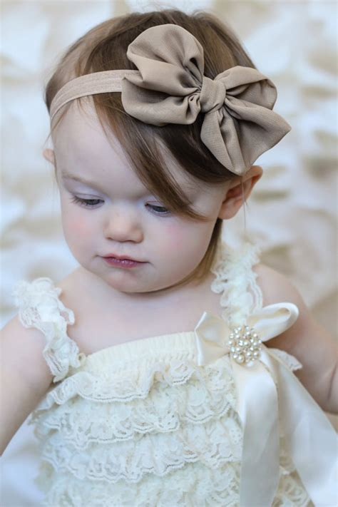 hair chiffon u choose color chiffon hair bow headband by babybloomzboutique
