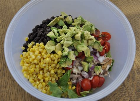 healthy dish salad recipes chipotle chicken taco salad wishes and dishes