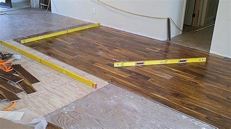 Sub Floor by The Squeaky Floor Doctor Plywood Sub Floor Wood Repair