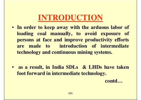Mba In Mining In India by Semimechanization Sdls Lh Ds