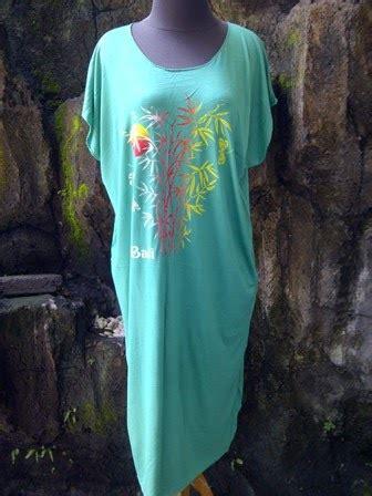 Serian Longdress Bali Motif Bambu baju bali murah daster bambu